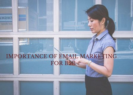 Importance of email marketing for B2B